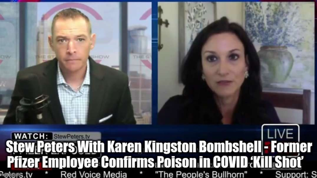 Former Pfizer Employee Confirms Poison in COVID 'Kill Shot' - Stew Peters
